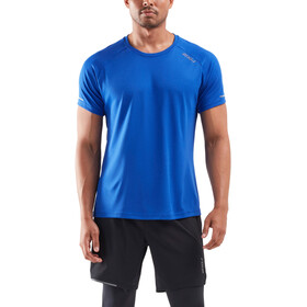 2XU Xvent G2 T-shirt Heren, chilled cobalt/silver reflective
